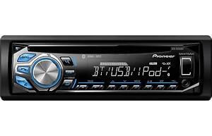 refurbished pioneer dxt x4869bt bluetooth cd car stereo. Black Bedroom Furniture Sets. Home Design Ideas