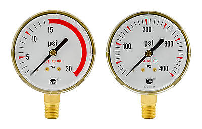 2-12 X 30 Psi 400 Psi Regulator Repair Replacement Us Gauges Acetylene