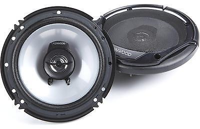 """Kenwood KFC-1665S 300 Watt 6.5"""" Flush Mount Coaxial Speakers 2-Way 019048204998"""