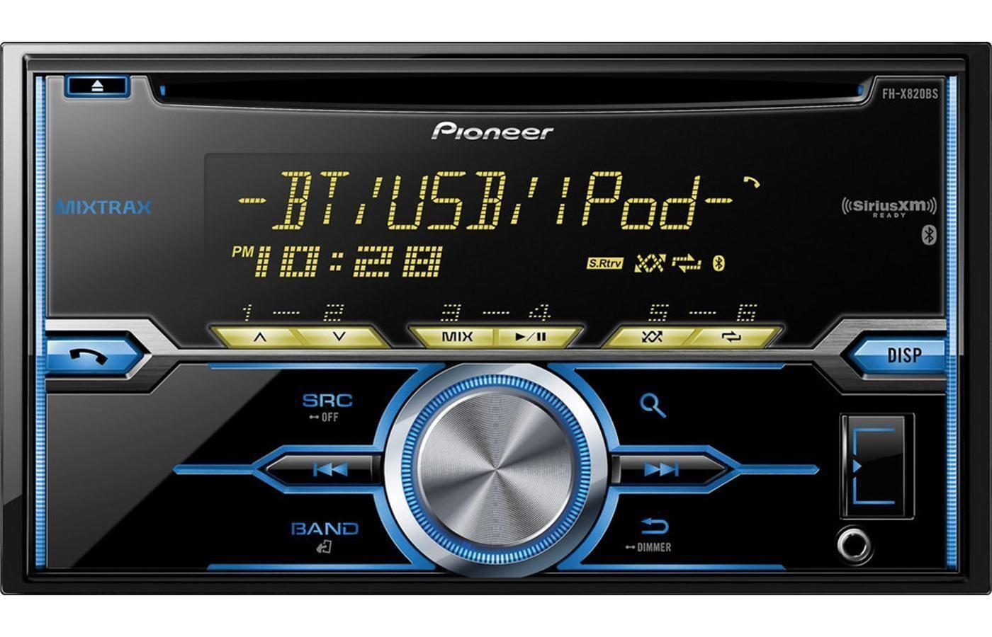 Pioneer fh x820bs