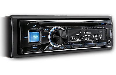 Alpine Cde 143Bt Car Stereo Cd Usb Receiver W  Advanced Bluetooth