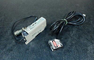 Keyence Laser Displacement Lb-72 Amplifier Unit And Sensor Head Lb-12 3b04