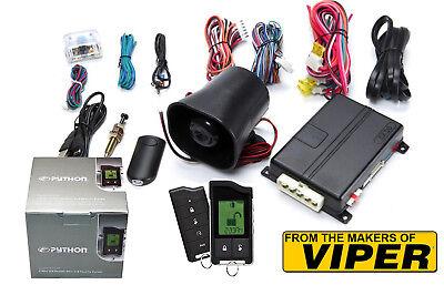 The Creators Of VIPER Python 5706P 2 Way LCD Car Alarm