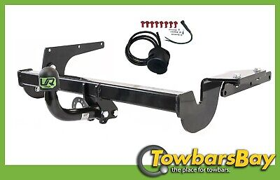 NISSAN X-TRAIL 2001-2007 T30 Fixed Swan Neck Towbar with Electric Kit 13Pin