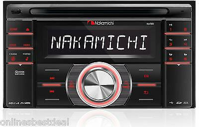 NAKAMICHI NA780 In-DASH 2-DIN CD USB SD CAR AUDIO STEREO RECEIVER **NEW**