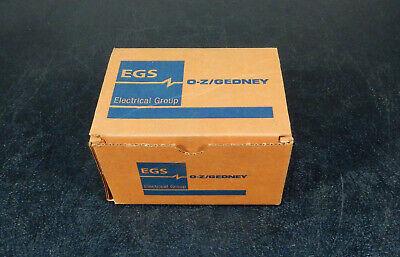 Box Of 5 Ozgedney Mf-125 1-14 Malefemale Corner Pulling Ells 3d05