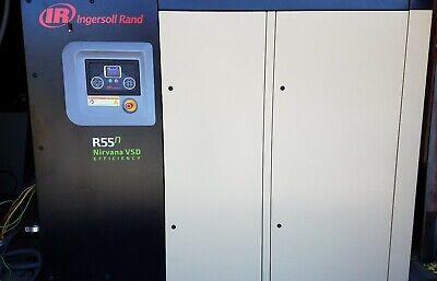 2016 Ingersoll Rand R55n-a Variable Speed 75hp Rotary Screw Air Compressor Vsd