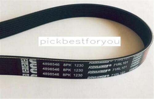 1PCS New 4998546 8pk1230 Cummins Fan Belt For V12 ISX15 #M23C QL
