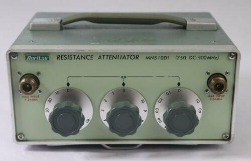 Anritsu MN510D1 Resistance Attenuator 75 Ohm, DC-500 MHz hs