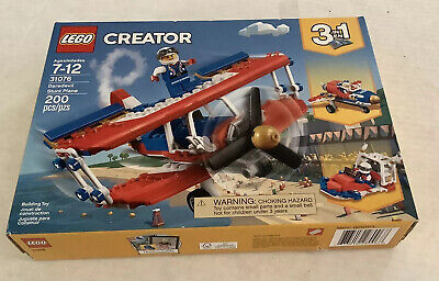 New Sealed LEGO Creator 31076 3-in-1 Daredevil Stunt Plane 2018