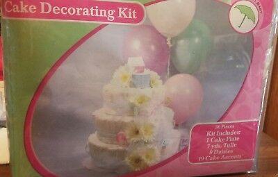 Baby Shower diaper  Cake Decorating Kit - Baby Shower Cake Kits