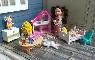 Kelly Doll Playroom Lot *Kelly Doll with Toys* *Baby Doll* *Malibu Dreamhouse*