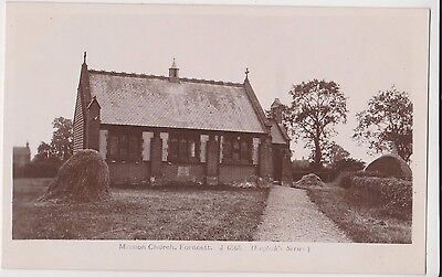 RP MISSION CHURCH FORNCETT NR  LONG STRATTON DISS NORFOLK REAL PHOTO C 1915