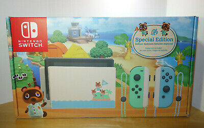 Nintendo Switch Console 32GB Animal Crossing New Horizons Special Edition NEW