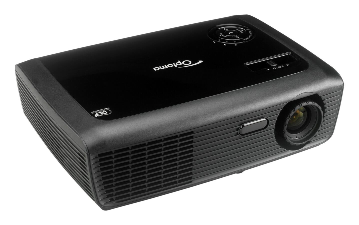 HD OPTOMA EX531p DLP PROJECTOR 2,600 LUMENS VERY BRIGHT 1080i 720p