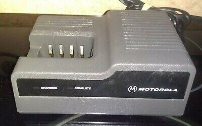 Motorola Ntn4633c Rapid Desktop Charger Mt1000 P200 Ht600 Mtx810 Mtx900