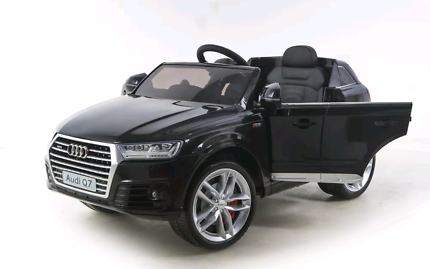 Electric Kids Ride on Car Licensed Audi Q7 Children Toy Remote