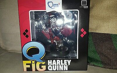 Harley Quinn QFig In Jester Suit with Dog and Hammer