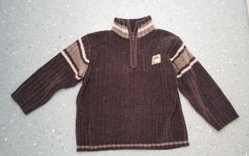 Pullover für coole Jungs **Gr 110** mit Reißverschluss **Top