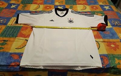 f74dc0728 Adidas Germany National Soccer Jersey 2002 World Cup vintage home white  adult XL