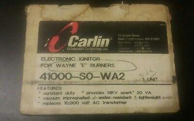 Carlin Electronic Ignitor Used W Wayne E Burners Part 41000-s0-wa2