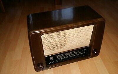 Gebruikt, Saba Schwarzwald W Röhrenradio 50er Jahre funktionstüchtig  tweedehands  verschepen naar Netherlands