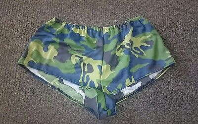 Sexy Camouflage Camo Hot Pant Shorts Army Fancy Dress  ()