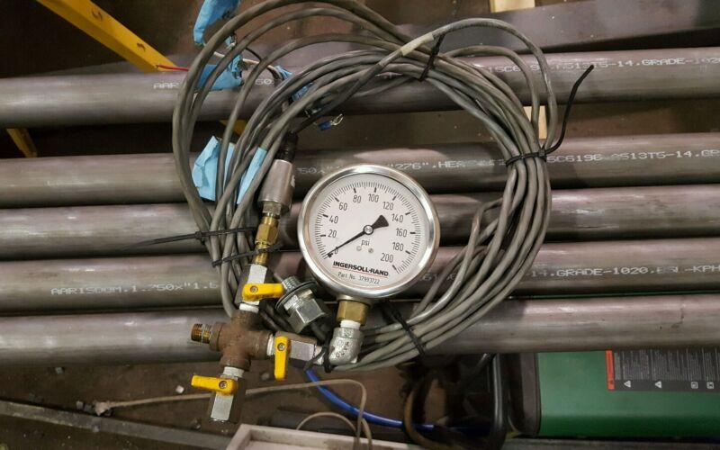 INGERSOLL-RAND PRESSURE TRANSDUCER 54592092 200psi gauge 37993722 IR compressor