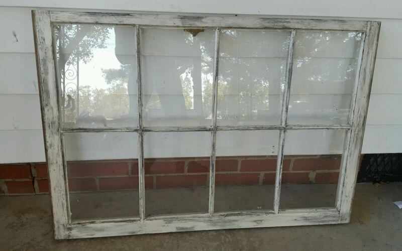 VINTAGE SASH ANTIQUE WOOD WINDOW UNIQUE FRAME PINTEREST RUSTIC DISTRESSED 36X27