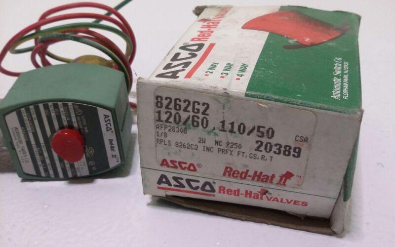 ASCO Red Hat Valves Authentic  8262G2 Shut Off Valve