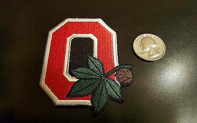 "OSU Ohio State Buckeyes Vintage RARE Embroidered Iron On Patch 3/"" x 3/"" NICE"