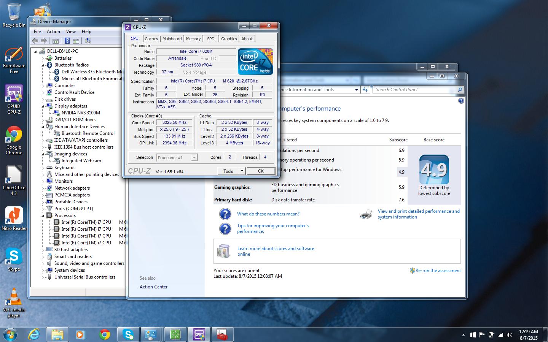 CORE i7 3.33GHz TB MAX DELL NOTEBOOK w/8GB✓500GB✓NVIDIA✓BLUETOOTH✓CAM✓WINDOWS+