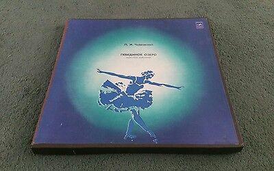C 01771-6 TCHAIKOVSKY SWAN LAKE RUSSIAN USSR MELODIYA 3 LP BOX SET 1980