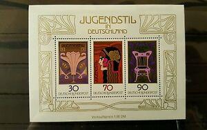 Germany-Federal-Frg-vintage-yearset-1977-Block-14-Mint-MNH-More-Sh-Shop