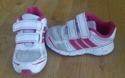 Adidas Turnschuhe Schuhe Halbschuhe Gr. 25 weiß / pink online kaufen