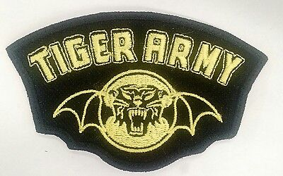Tiger Army Embroidered Patch Punk Rock Psychobilly