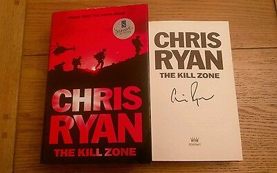 The Kill Zone signed SIGNED Chris Ryan 1st Edition 1st Impression Hardback 2010