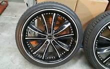 Vertini 20' Rims Tyres and Bridgestone Wheels Nissan BMW Skyline Botany Botany Bay Area Preview