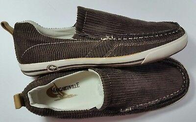 Margaritaville Marina Slip On Mens Moc Loafer Fabric Mocassin Pre Owned Sz10 -