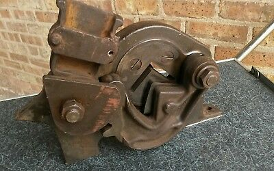 Roper Whitney 4 Angle Iron-shear - Pexto Diacro 2x2x14 Dated 1944