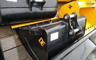 Cat 303.5 42 Excavator Ditching Bucket Backhoe 40mm Pins Case John Deere