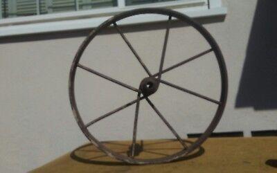 Vintage Wheel barrel Hoe Plow Section Farm Primitive home and garden