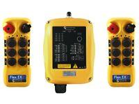 MAGNETEK FLEX 4EM OVERHEAD CRANE HOIST RADIO REMOTE SYSTEM 0-FLEX-4EM-N 12-24 DC