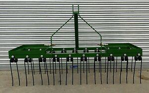 6 ft Spring Tine Harrow, Chain Harrow, Tractor Mounted