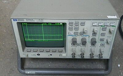 Hewlett Packard Agilent Keysight 54601a 4 Channel 100 Mhz Oscilloscope W 54650a