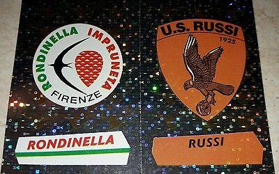 FIGURINA CALCIATORI PANINI 2000-01 SCUDETTI RONDINELLA RUSSI N°692 ALBUM 2001