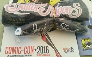 SDCC Comic Con 2016 VIZ SAILOR MOON Shirt New Guardians henshin wand locket XL