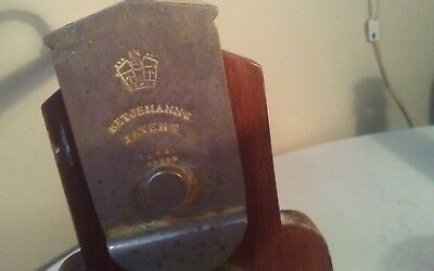 BETJEMANN'S THE TANTALUS LONDON ANTIQUE LIQUOR LOCK