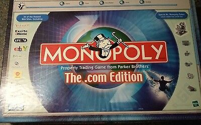 Monopoly  Com Edition 2000 Board Game Kids Toys Ebay Yahoo Parker Brothers
