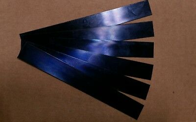 Blue Tempered Spring Steel Shim 0.015 X 0.25 X 6 One Piece